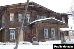 Ульян өлкәсе Барыш районы Зөябаш авылында Акчуриннар йорты