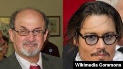 Salman Rushdie və Johnny Depp