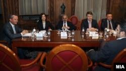 Архивска фотографија-Координативна средба со политичките партии во кабинетот на претседателот на Собранието Трајко Вељаноски. СДСМ не присуствува. 09 јули l2012