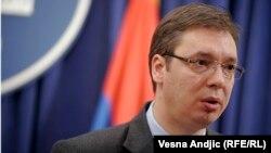 Ministri serb i Mbrojtjes, Aleksandar Vuçiq