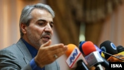 Mohammad Bagher Nobakht, spokesperson of Rouhani's government