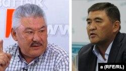 Азимбек Бекназаров и Камчыбек Ташиев.