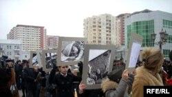Шествие в связи с днем памяти Ходжалы в Баку, 26 февраля 2009