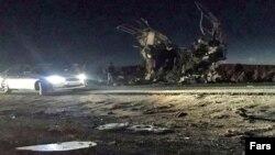 در حمله انتحاری به اتوبوس سپاه ۲۷ عضو سپاه کشته شدند
