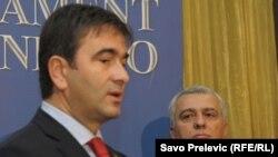 Nebojša Medojević i Andrija Mandić