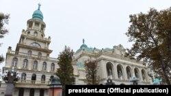Gəncə Dövlət Filarmoniyasının yeni binası
