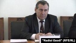 Содиқ Шоҳназаров, мушовири калони бахши ёрдамчии президент оид ба масъалаҳои ҳуқуқӣ