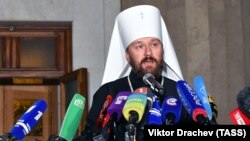 Metropolitan Ilarion of Volokolamsk (file photo)