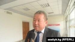 Билим берүү жана илим министри Канат Садыков.