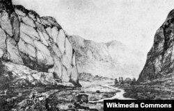 Daryal vadisi, 1837