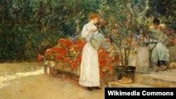 Чайлд Гасам, «Імпрэсіянісцкі сад».