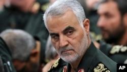 Generalul Qassem Soleimani, imagine de arhivă
