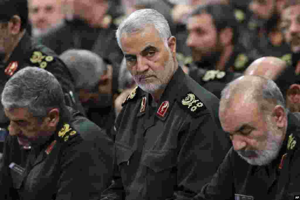 """Soleimani has basically been running Iran's foreign policy in the region through alliances backed by force,"" said then-British Foreign Secretary Jack Straw."