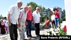 Odavanje počasti žrtvama Srebrenice i ostalima stradalim na prostorima bivše SFRJ ,Podgorica, 11. jula 2018.