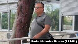 Архивска фотографија: Горан Грујевски пред Основниот суд Скопје 1