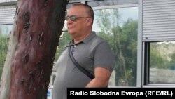 Архивска фотографија: Горан Грујевски пред Основен суд Скопје 1