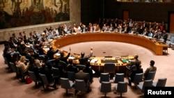 صورة من الأرشيف لإحدى جلسات مجلس الأمن التابع للأمم المتحدة في نيويورك