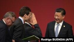 Средба на рускиот и кинескиот претседател Владимир Путин и Кси Џинпинг во Лима, Перу