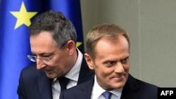 Дональд Туск и Бартоломей Сенкевич