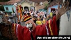 Braziliyada festival, arxiv fotosu