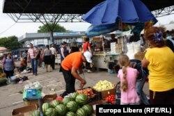 Piaţa agricolă din Tiraspol