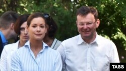 Маша Гайдар и Саша Боровик – члены команды Михаила Саакашвили