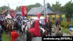 Рыцары на Дажынках. Вуліца Кармэліцкая
