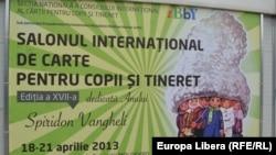 La Tîrgul de Carte pentru Copii și Tineret de la Chișinău