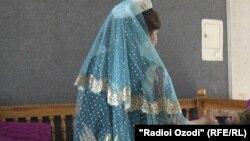 Невеста в Таджикистане, архивное фото