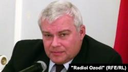 Russian Ambassador to Tajikistan Yury Popov