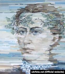 Портрет Лесі Українки художника Володимира Слєпченка