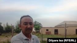 Абидулла Кусайынов, житель села Багыс, избранный «бием». Южно-Казахстанская область, 16 мая 2018 года.