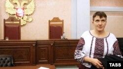 Надія Савченко у Верховному суді Росії, 26 жовтня 2016 року