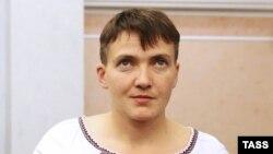Украина Жоғарғы Радасы депутаты Надежда Савченко.