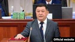 Транспорт жана байланыш министри Замирбек Айдаров