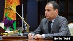 Բելառուս - Ռոման Գոլովչենկոն երկրի նախագահի հետ հանդիպման ժամանակ, Մինսկ, 3-ը հունիսի, 2020թ.