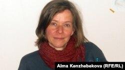Германиялық социолог Дагмар Шрайбер. Алматы, 10 сәуір 2013 жыл.