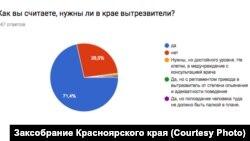 Большинство опрошенных красноярцев проголосовали за вытрезвители