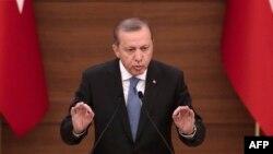 Президент Режеп Таип Эрдоган