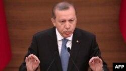 Türkiyə prezidenti Recep Tayyip Erdogan