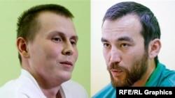 Олександр Александров (л) і Євген Єрофеєв (п)