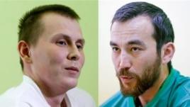 Задержанные в Луганской области россияне Александр Александров и Евгений Ерофеев, называющие себя спецназовцами ГРУ России
