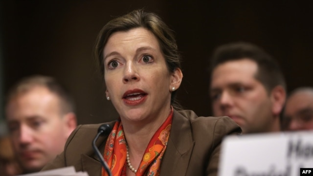 "Washington should be concerned about Russian signals that it was increasingly willing to use tactical nuclear weapons as a ""first-strike option"" in any potential military clashes in Europe, said Evelyn Farkas, who resigned last year as the Pentagon's top Russia official."