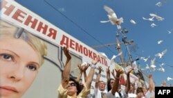 Мітинг прихильників Тимошенко в Києві, 5 серпня 2013 року