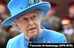 Ұлыбритания патшайымы Елизавета II.