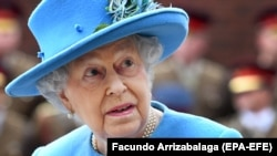 Королева Великобритании Елизавета II. Архивное фото.