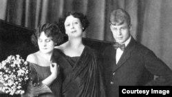 Сергей Есенин, Айседора Дункан и ее приемная дочь Ирма