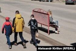 На улицах Боровичей