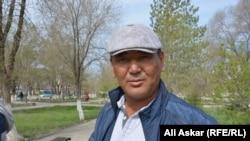 Канат Сыздыков, фермер из Байганинского района Актюбинской области. Актобе, 5 мая 2017 года.