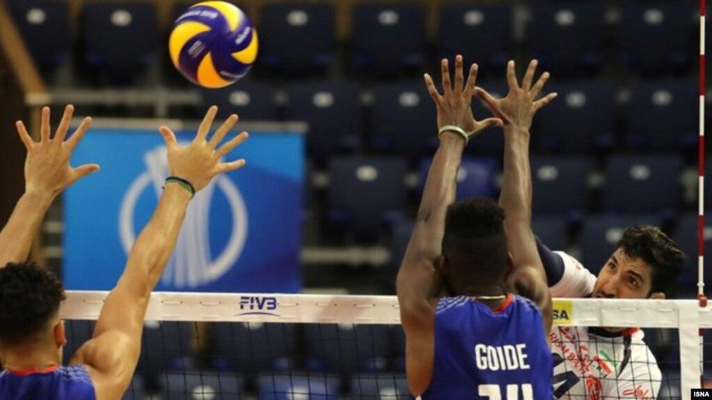 پیروزی والیبال ایران مقابل کوبا در والیبال قهرمانی جهان